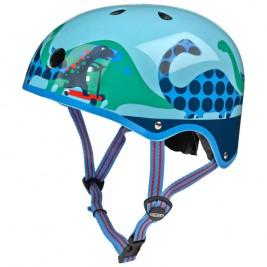 Шлем Micro - синий, скутерзавры (размер S,M)