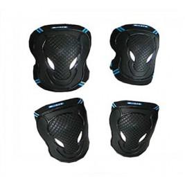 Комплект защиты - черный (размеры XS,S,M,L)