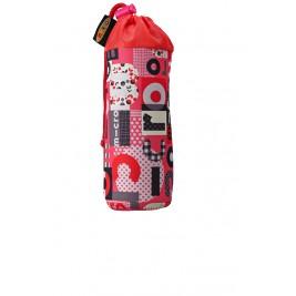 Держатель для бутылок Word розовый