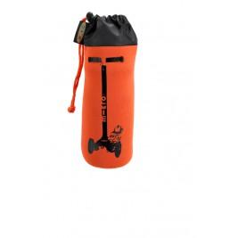 Держатель для бутылок оранжевый с кикбордом