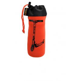 Держатель для бутылок оранжевый со скутером