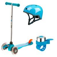 Набор Mini Micro Aqua (со шлемом и звонком)