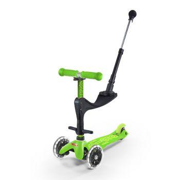 Mini Micro 3in1 Deluxe Plus Зеленый LED