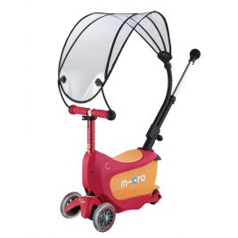 Mini2Go Deluxe Plus Canopy Ruby Red с навесом