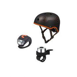 Защитный набор Микро Черно-Оранжевый (размер S,M)